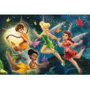 Dino Disney Fairies Puzzle Tanec s motýly 66 dílků 2