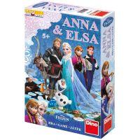 Dino Disney Frozen Anna a Elsa hra