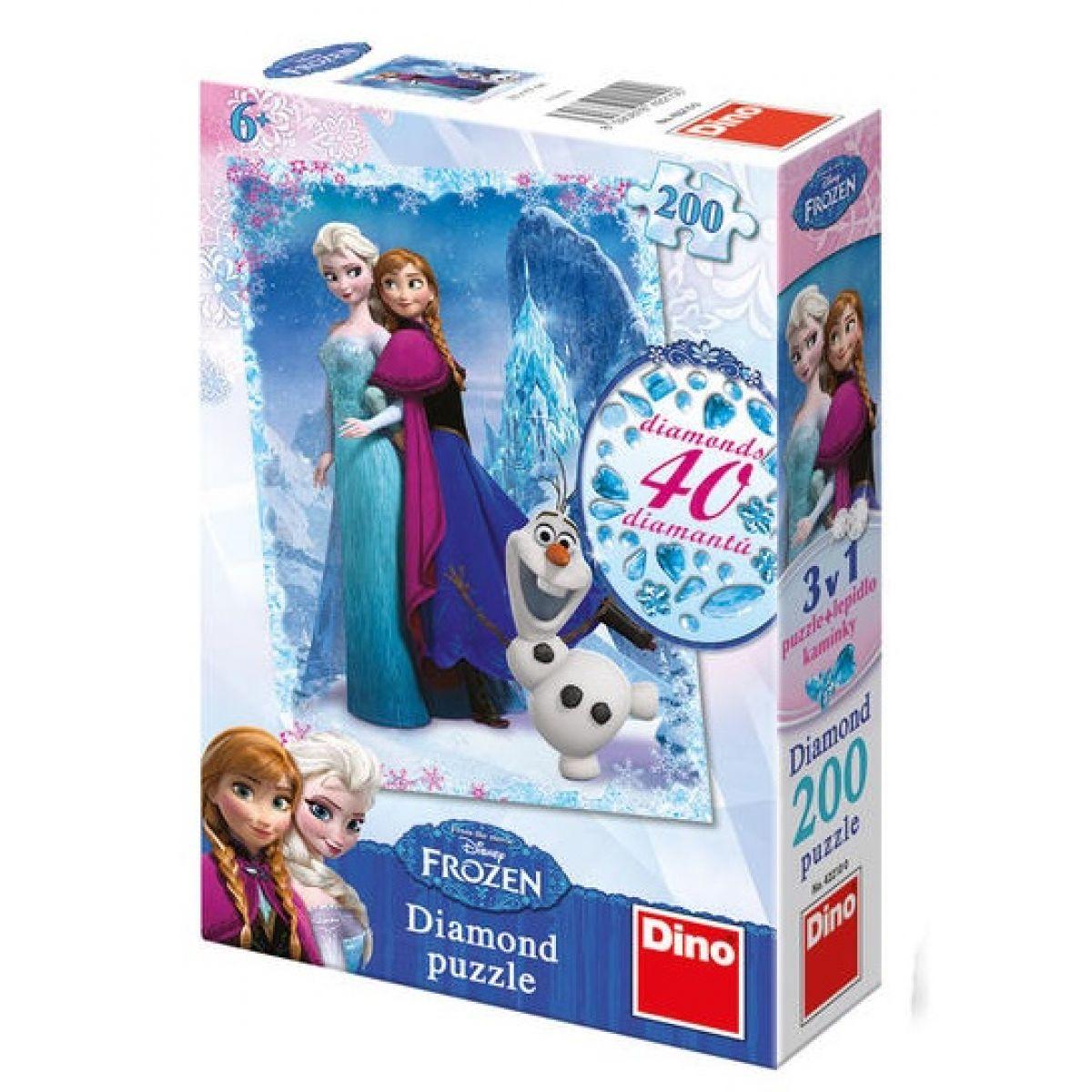 Dino Disney Frozen Diamond puzzle 200 dílků