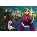 Dino Disney Frozen Puzzle Ledové královsví 2x 66 dílků 3