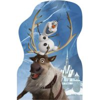 Dino Disney Frozen Puzzle Přátelé 4x 54 dílků 4