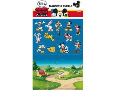 Dino Disney Magnetické Puzzle Mickey 16 dílků