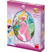 Dino Disney Princess Kubus Princezny 20 dílků