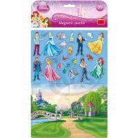 Dino Disney Princess Magnetické Puzzle Princezny 24 dílků