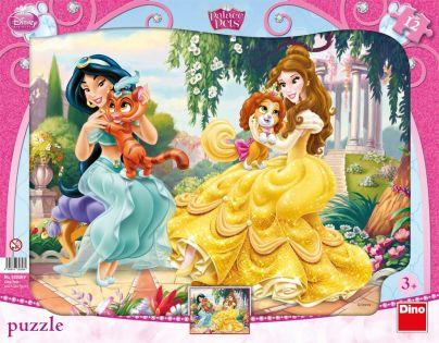 Dino Disney Princess Puzzle deskové Princezny 12 dílků