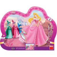 Dino Disney Princess Puzzle deskové Šípková Růženka 25 dílků