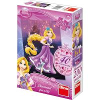 Dino Disney Princess Puzzle Diamond Locilka 200 dílků