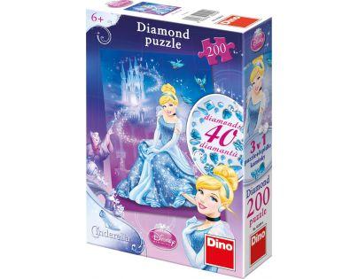 Dino Disney Princess Puzzle Diamond Popelka 200 dílků