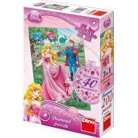 Dino Disney Princess Puzzle Diamond Růženka 200 dílků