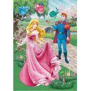 Dino Disney Princess Puzzle Diamond Růženka 200 dílků 2
