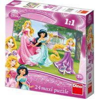 Dino Disney Princess Puzzle Maxi Princezny 24 dílků