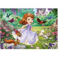 Dino Disney Princess Puzzle Maxi Sofie v parku 24 dílků 2