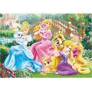 Dino Disney Princess Puzzle Princezny s mazlíčky 100 XL dílků 2