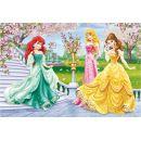 Dino Disney Princess Puzzle Princezny u fontány 66 dílků 2
