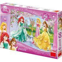 Dino Disney Princess Puzzle Princezny u fontány 66 dílků