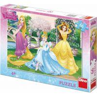 Dino Disney Princess Puzzle Princezny v zahradě 66 dílků