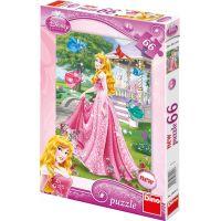 Dino Disney Princess Puzzle Šípková Růženka 66 dílků
