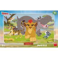 Dino Disney Puzzle deskové Lví hlídka 15 dílků