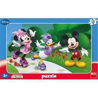 Dino Minnie a přátelé Puzzle deskové 15 dílků