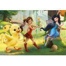 Dino Disney Puzzle Fairies a kuřátko 24 dílků 2