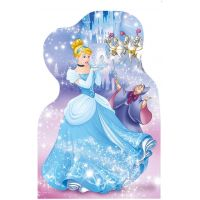 Dino Disney Puzzle Hravé princezny 4 x 54 dílků 2