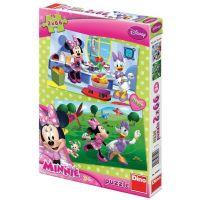 Dino Disney Puzzle Kamarádka Minnie 2x66dílků