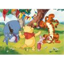 Dino Medvídek Pú Puzzle Maxi Medvídek Pú a kamarádi 24dílků 2