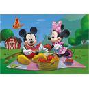 Dino Disney Puzzle Mickey Mouse na pikniku 66 dílků 2