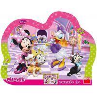 Deskové puzzle Walt Disney Minnie & Mazlíčci 25 dílků (DINO 311282)