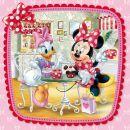 Dino Disney Puzzle Minnie na návštěvě 3 x 55 dílků 2