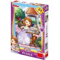 Dino Disney Puzzle Sofie a zvířátka 24 dílků