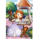 Dino Disney Puzzle Sofie a zvířátka 24 dílků 2