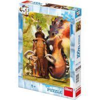 Dino Doba Ledová Puzzle 100XL dílků