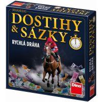 Dino Dostihy a sázky rychlá dráha rodinná hra