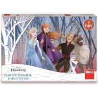 Dino Frozen Člověče nezlob se a Magický les dětská hra