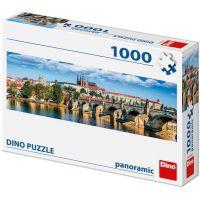 Dino Hradčany panoramic puzzle 1000 dílků