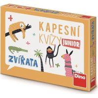 Dino Kapesní kvízy junior Zvířata cestovní hra
