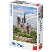 Dino Katedrála Notre Dame 1000 dílků puzzle
