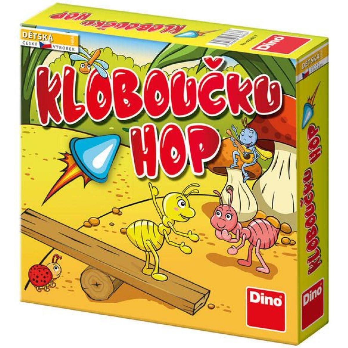 Dino Kloboučku Hop Dětská hra