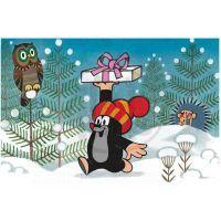 Dino 643093 - Kostky Krtek a přátelé dřevo (6ks) 2
