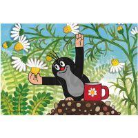 Dino 643093 - Kostky Krtek a přátelé dřevo (6ks) 4