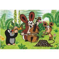 Dino 643093 - Kostky Krtek a přátelé dřevo (6ks) 5