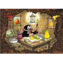 Dino Krteček Puzzle Maxi Krtek maluje 24dílků 2