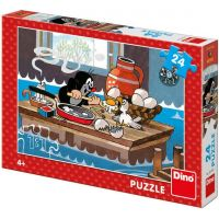 Dino Krtek a orel puzzle 24 dílků