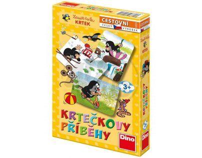 DINO 621602 - Krtečkovy příběhy společenská hra v krabici