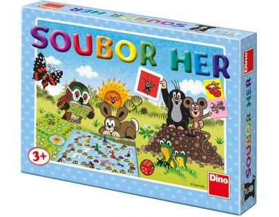Dino 623224 - Krtkův soubor her