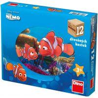 Dino Nemo Kubus 12 kostek