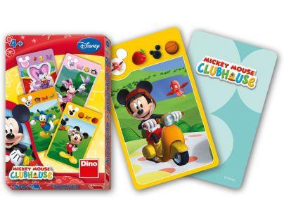 Dino Disney Karty kvarteto Mickey Club House
