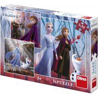 Dino Ledové království II 3 x 55 puzzle