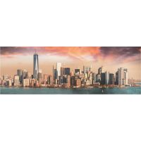 Dino Puzzle Manhattan za soumraku Panoramic 1000 dílků